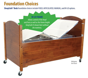 Foundatiion Choices SleepSafe Beds