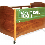 SleepSafe Bed - Safety Rail Height