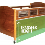 SleepSafe Bed - Transfer height