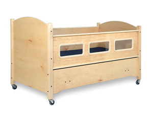 SleepSafe® - BASIC Bed - Maple