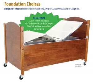 Foundatiion Choices SleepSafe® Beds