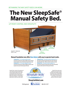 SleepSafe Manual Safety Bed