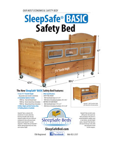 SleepSafe BASIC Bed