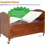 SleepSafe Beds - Foundation Choices
