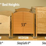 SleepSafe® Bed - Height Comparison Side by Side