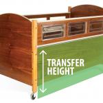 SleepSafe Bed - Transfer height