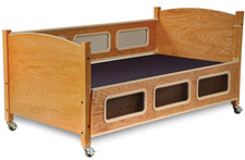 SleepSafe® - Low Bed - Maple