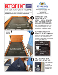 SleepSafe Bed - Dreama System by Jenx - Retrofit Instructions