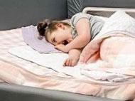 Kaiya in her SleepSafe Bed